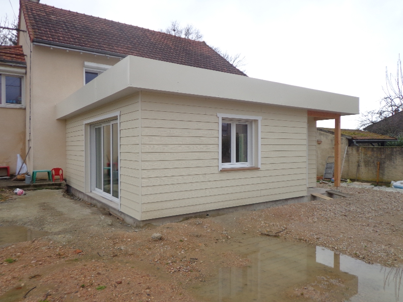 Extensions nordi bois construction maisons madrier et for Bardage bois exterieur sans entretien