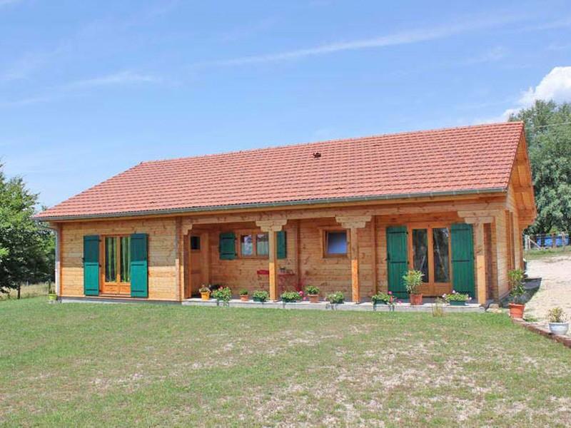 Maison Bois Auvergne Elegant Biokit Habitat Cuest Plus De Annes Duexprience Dans Le Domaine De  # Maison Bois Auvergne