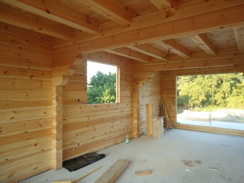 Maisons madriers nordi bois construction maisons madrier for Montage lambris bois