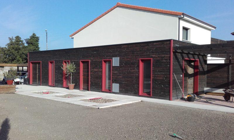 Abris de jardin nordi bois construction maisons madrier for Abri de jardin toit plat traite autoclave